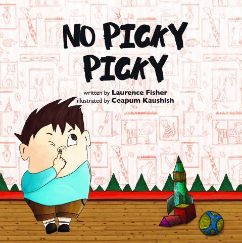 "Book cover for ""No Picky Picky"""
