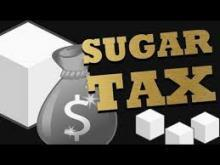 "Graphic that says ""Sugar tax"""
